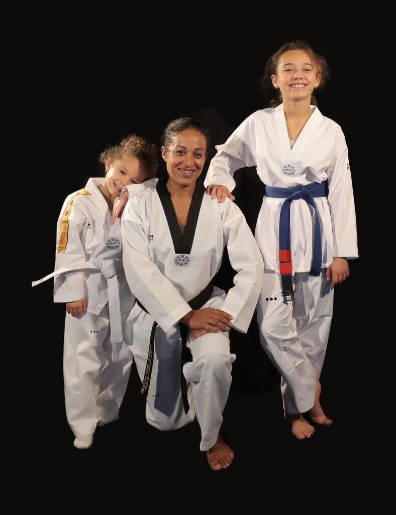 AME Sport dobok taekwondo famille