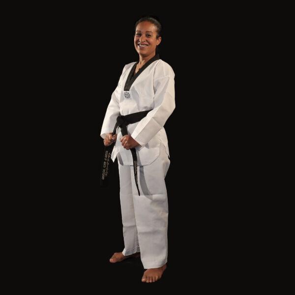 Dobok Great Warrior uniforme taekwondo AME Sport 1