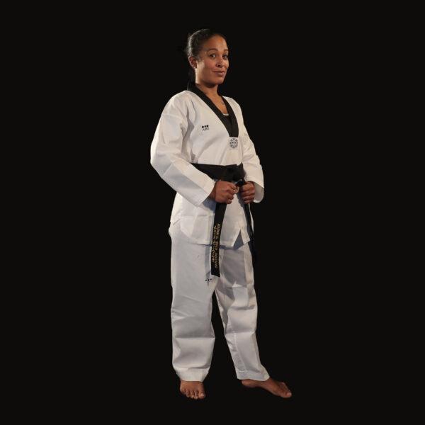 Dobok Great Warrior uniforme taekwondo AME Sport 3