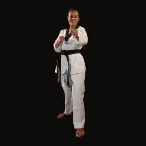 Dobok Great Warrior uniforme taekwondo AME Sport 4