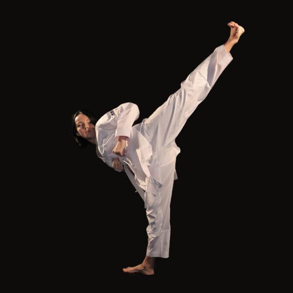 Supreme Warrior pour adulte dobok uniforme taekwondo AME Sport