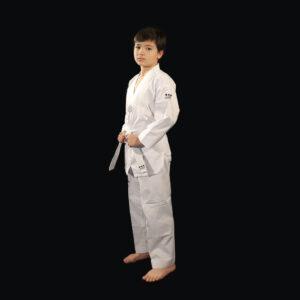 dobok Supreme Warrior uniforme taekwondo AME Sport 1