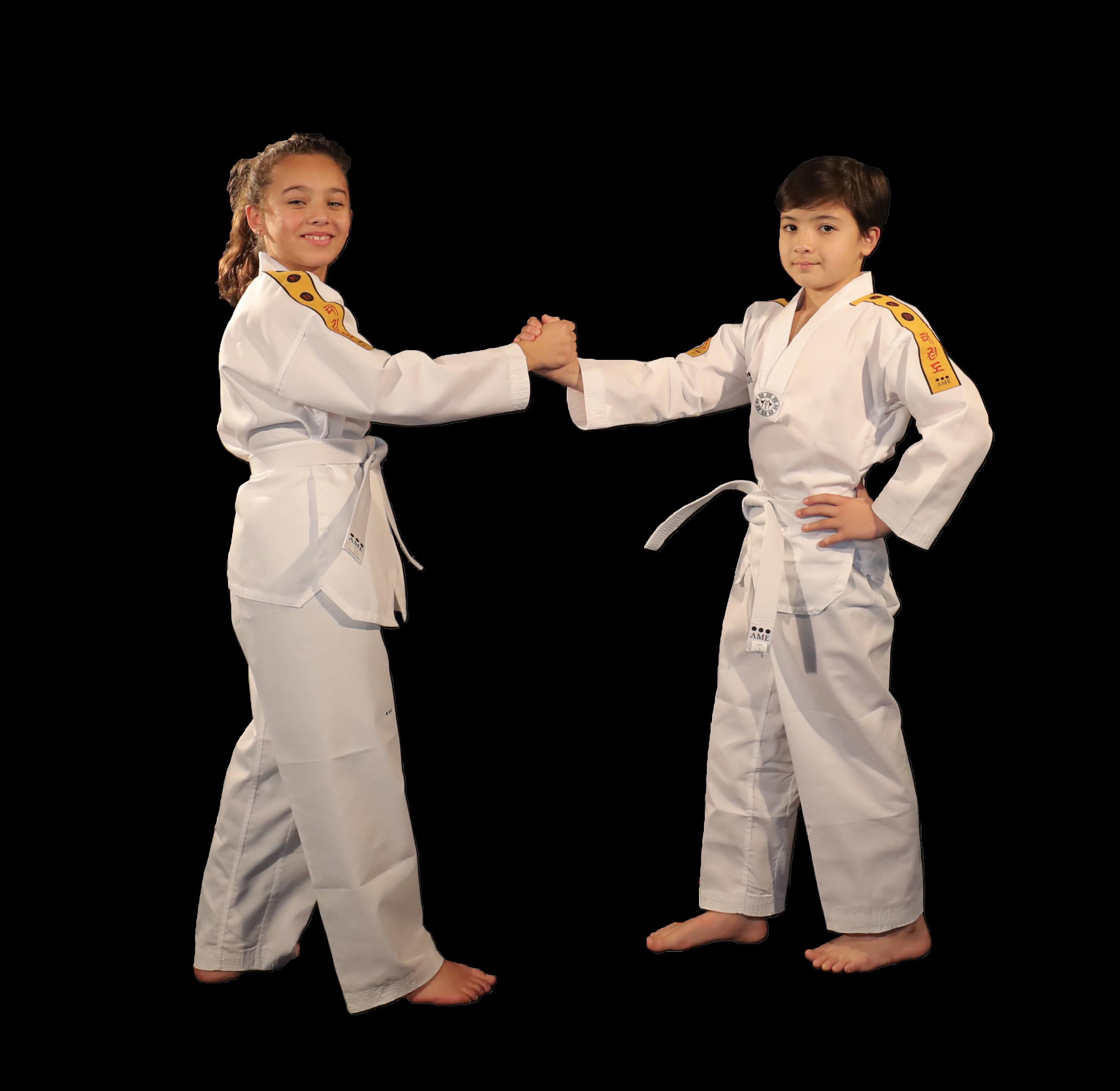 Dobok little Warrior AME Sport taekwondo